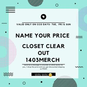 Closet Clear Out Deal
